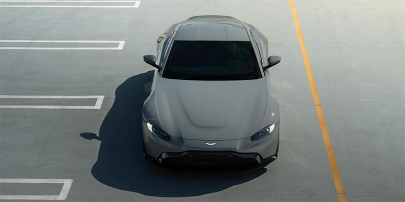 Aston Martin Top Front End View
