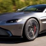 Aston Martin Vantage on highway
