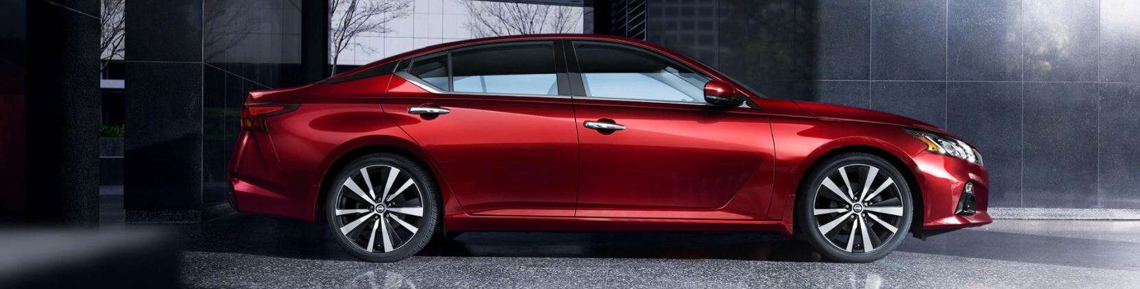 2021 Nissan Altima - Red Sedan