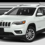 White 2020 Jeep Cherokee