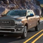 2020 RAM 2500 on the open road