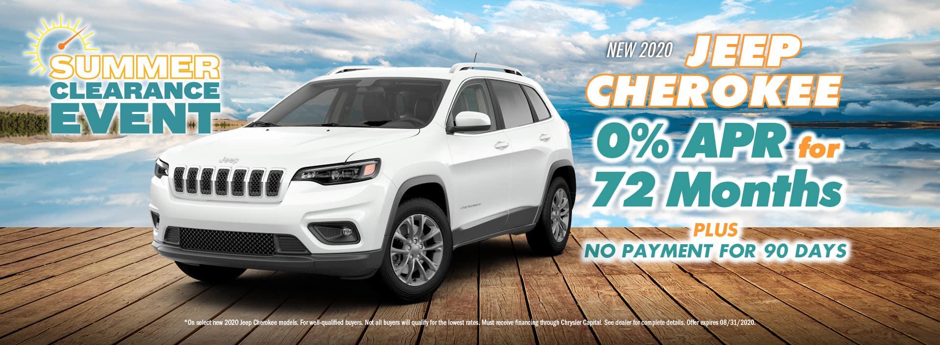 Summer 2020 Jeep Cherokee
