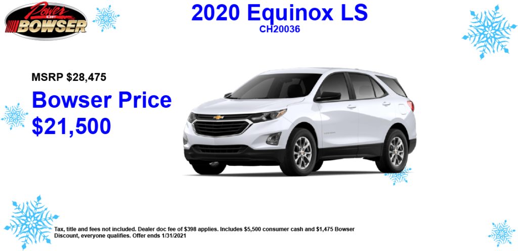 2020 Equinox Special Offer