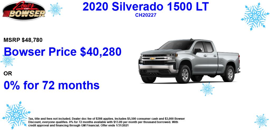 Chevy Silverado Special Offer