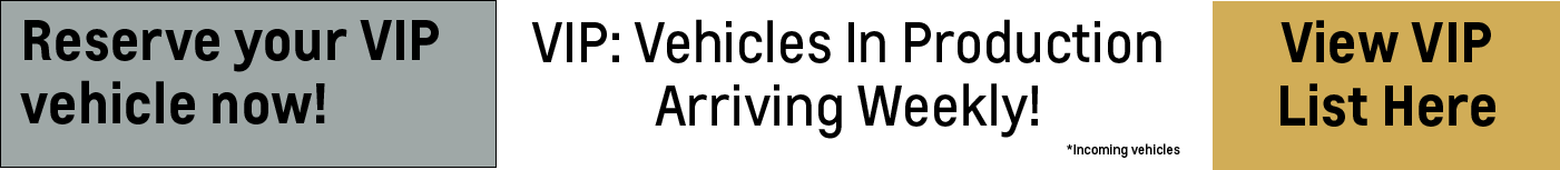 Chevrolet New Vehicles Incoming