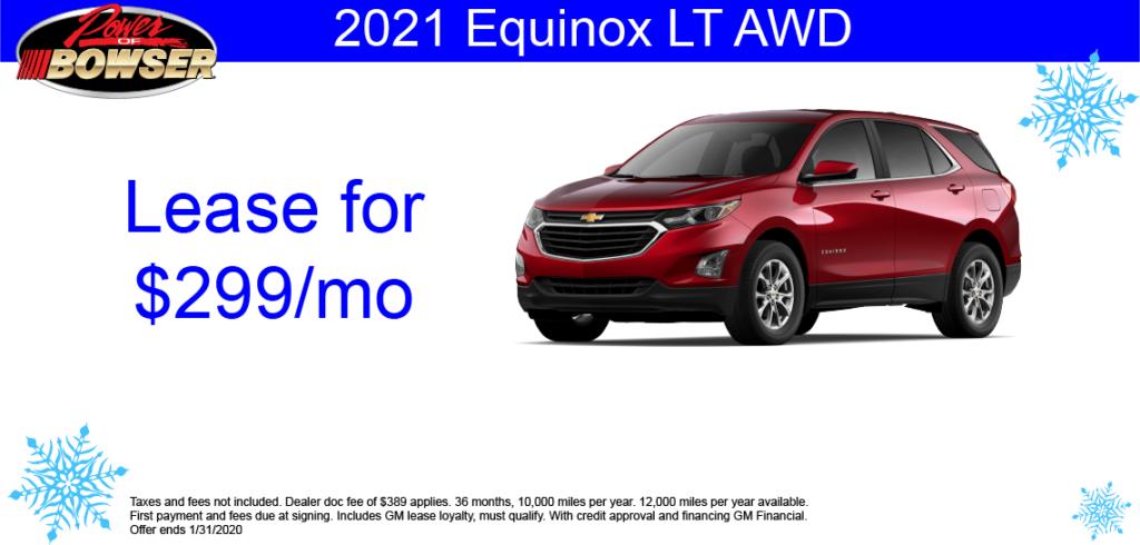 2021 Chevrolet Equinox Special Offer