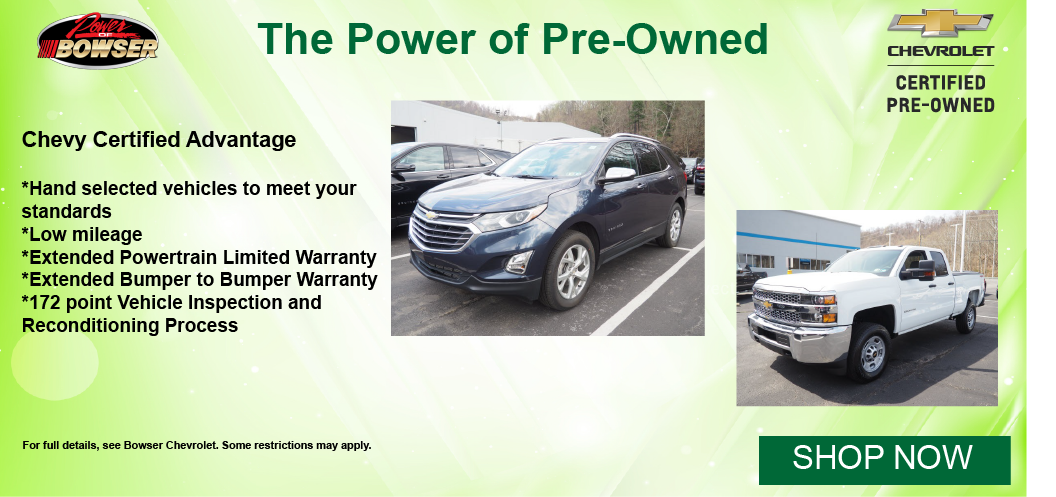 Chevy Certified Pre Owned
