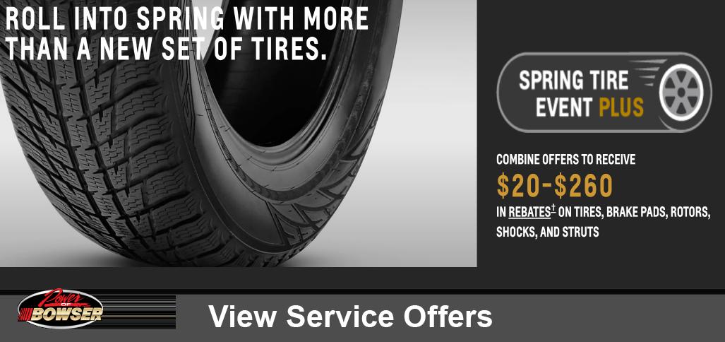 Chevrolet Service Specials