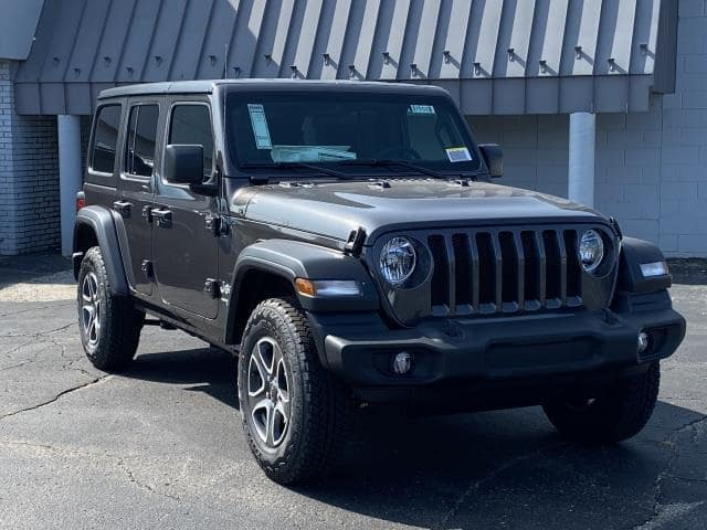 2021 Jeep Wrangler Unlimited Sport S Lease Offer In Brighton