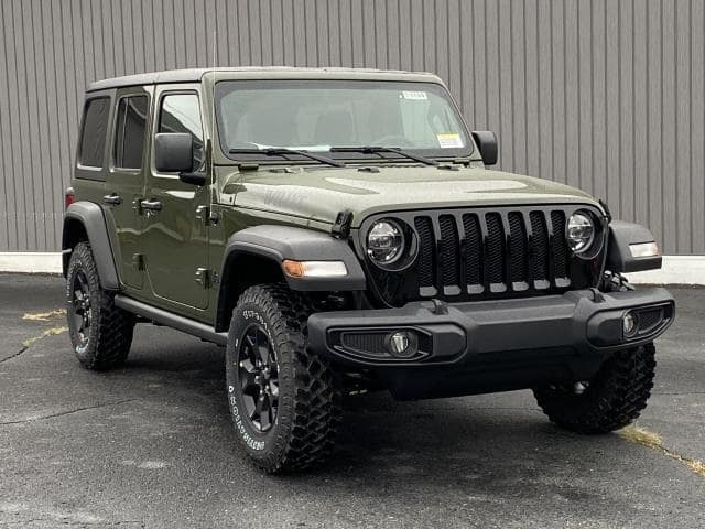 2021 Jeep Wrangler Unlimited Willys 4x4 Lease Offer In Brighton