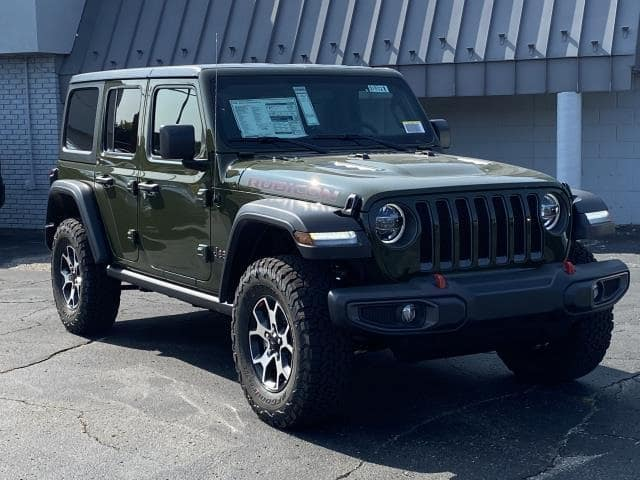 2021 Jeep Wrangler Unlimited Rubicon 4x4 Lease Offer