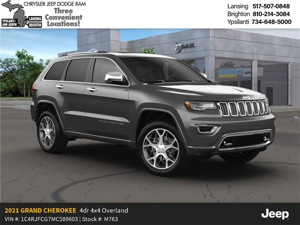 2021 Jeep Grand Cherokee Overland High Altitude Lease Offer