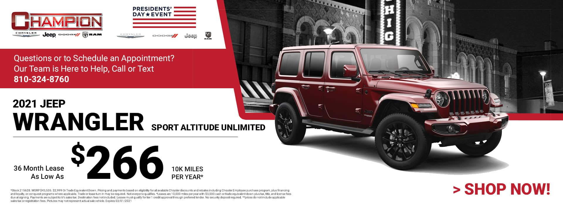 2021 Jeep Wrangler Sport Altitude Unlimited