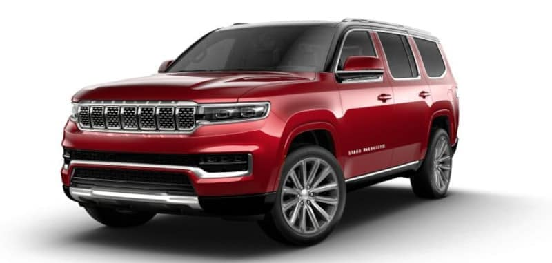 2022 Jeep Grand Wagoneer Overview