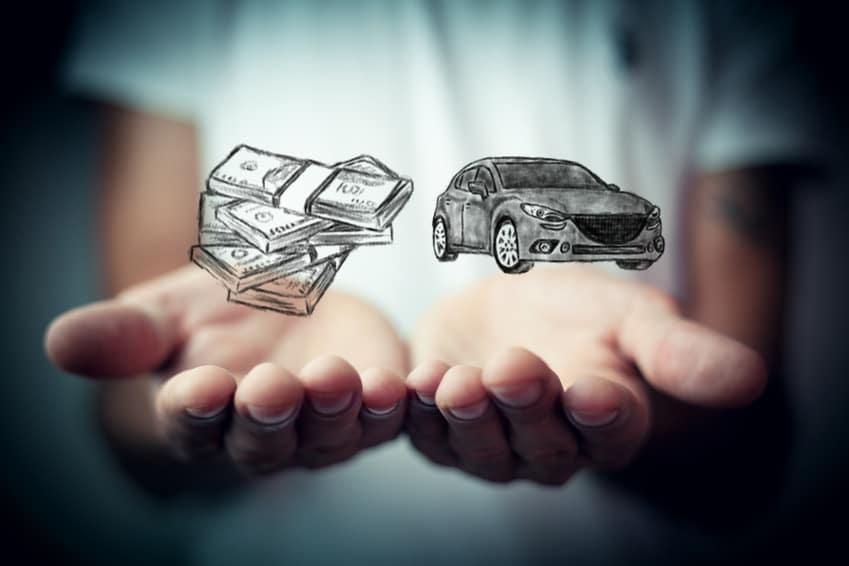 car trade in