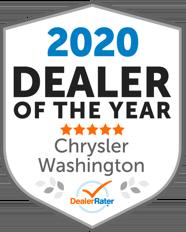 DealerRater 2020 Dealer of the Year Chrysler, Washington