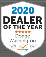 DealerRater 2020 Dealer of the Year Dodge, Washington