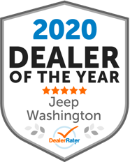 DealerRater 2020 Dealer of the Year Jeep, Washington