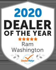 DealerRater 2020 Dealer of the Year Ram, Washington