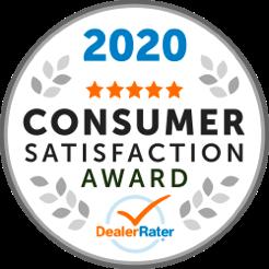 DealerRater 2020 Customer Satisfaction Award