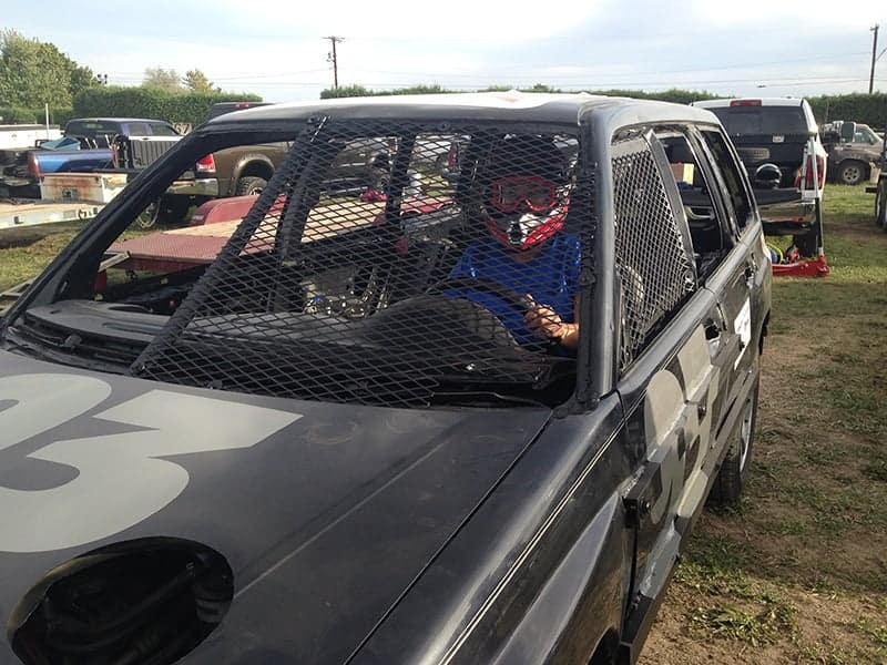 16demo derby car