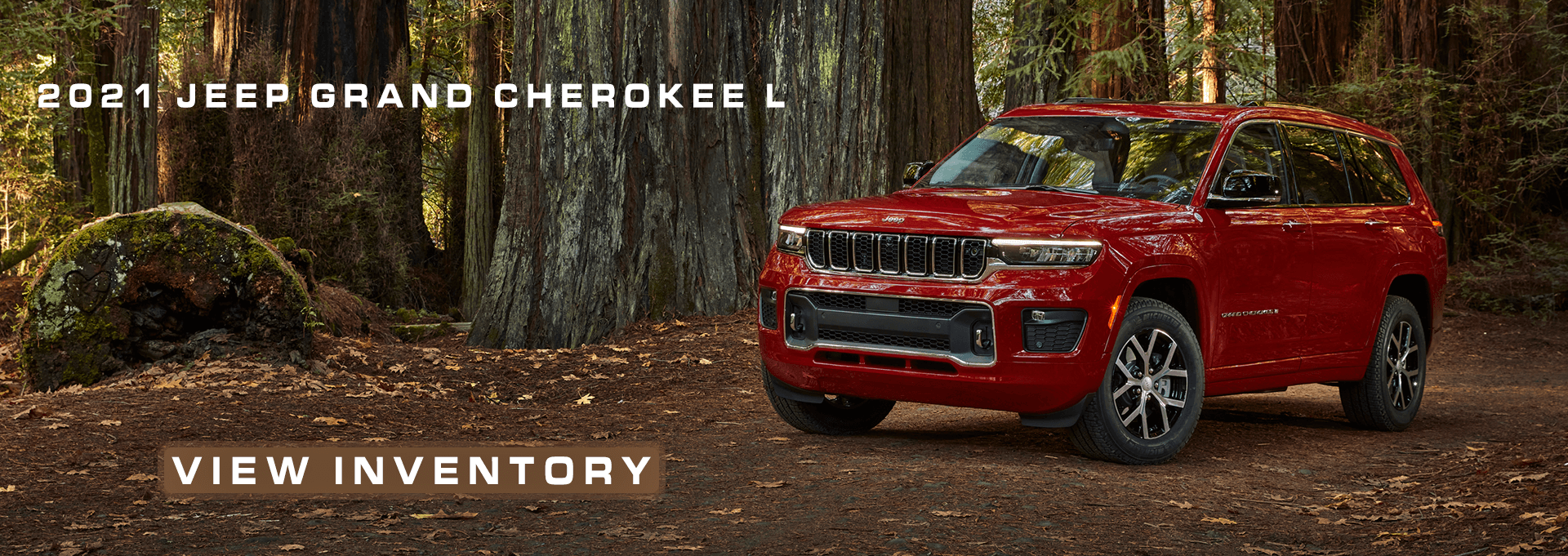 2021 Jeep Grand Cherokee L Red