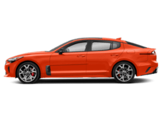 Side-view of the Kia Stinger