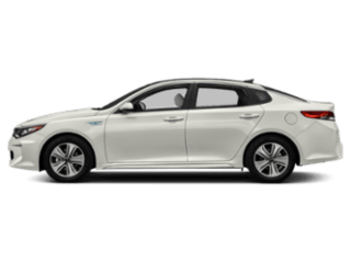 Side-view of the Kia Optima Hybrid