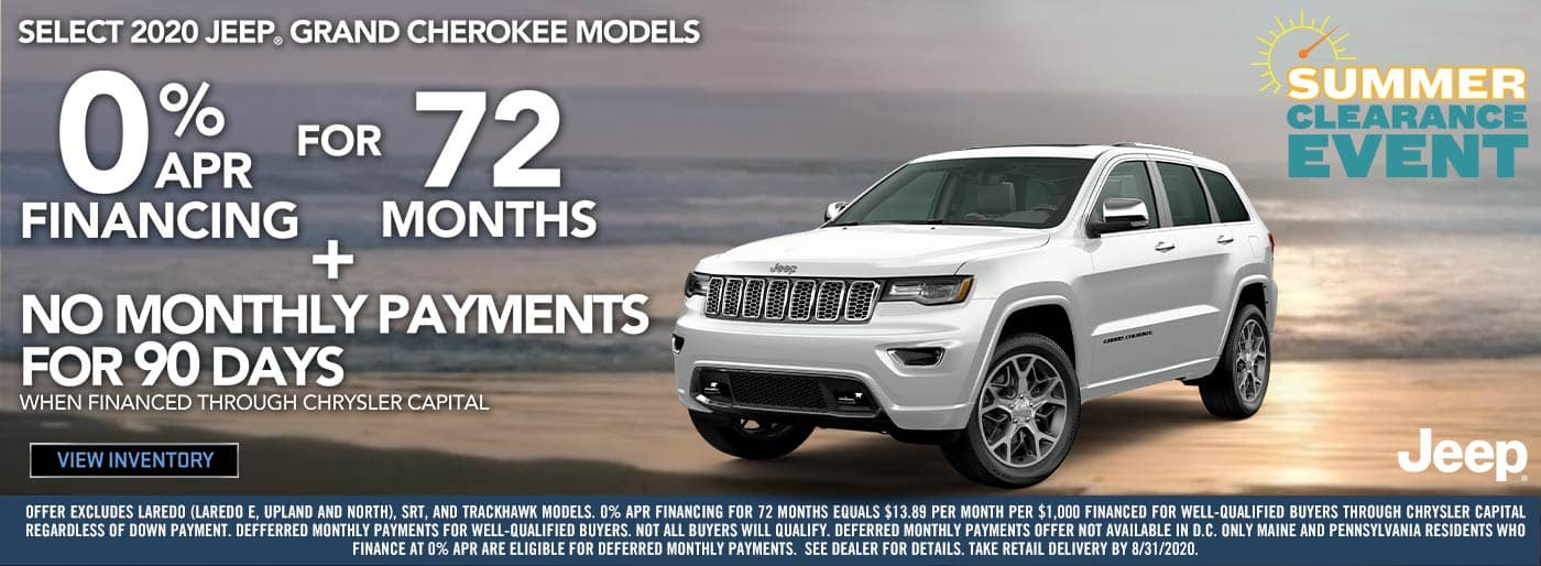 2020 Jeep Grand Cheerokee