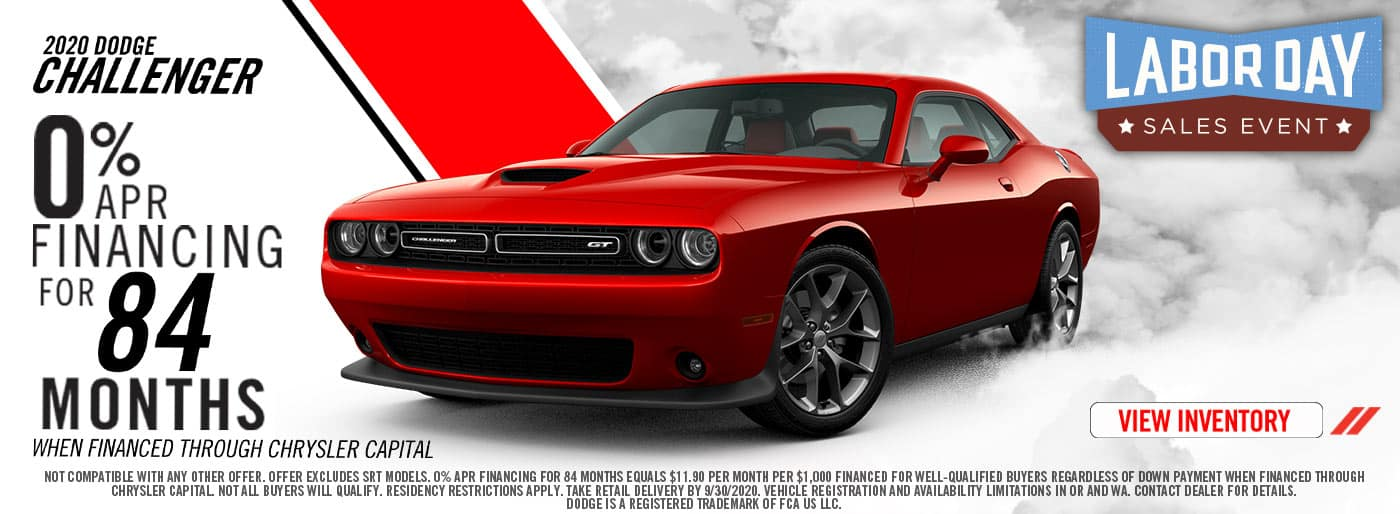 2020 Labor Day Dodge Challenger