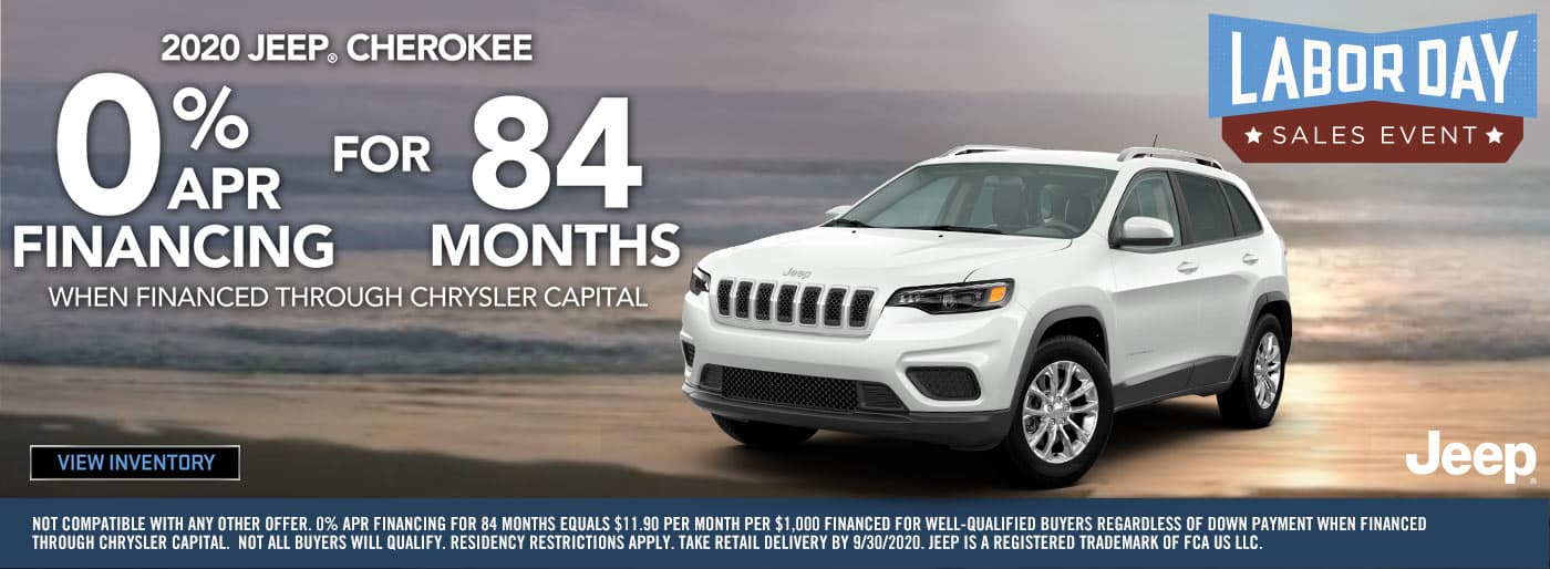 2020 Labor Day Jeep Cherokee