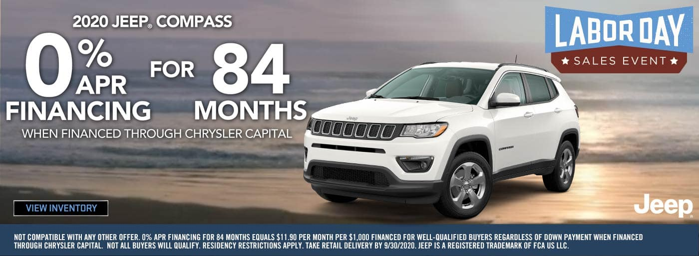 2020 Labor Day Jeep Compass