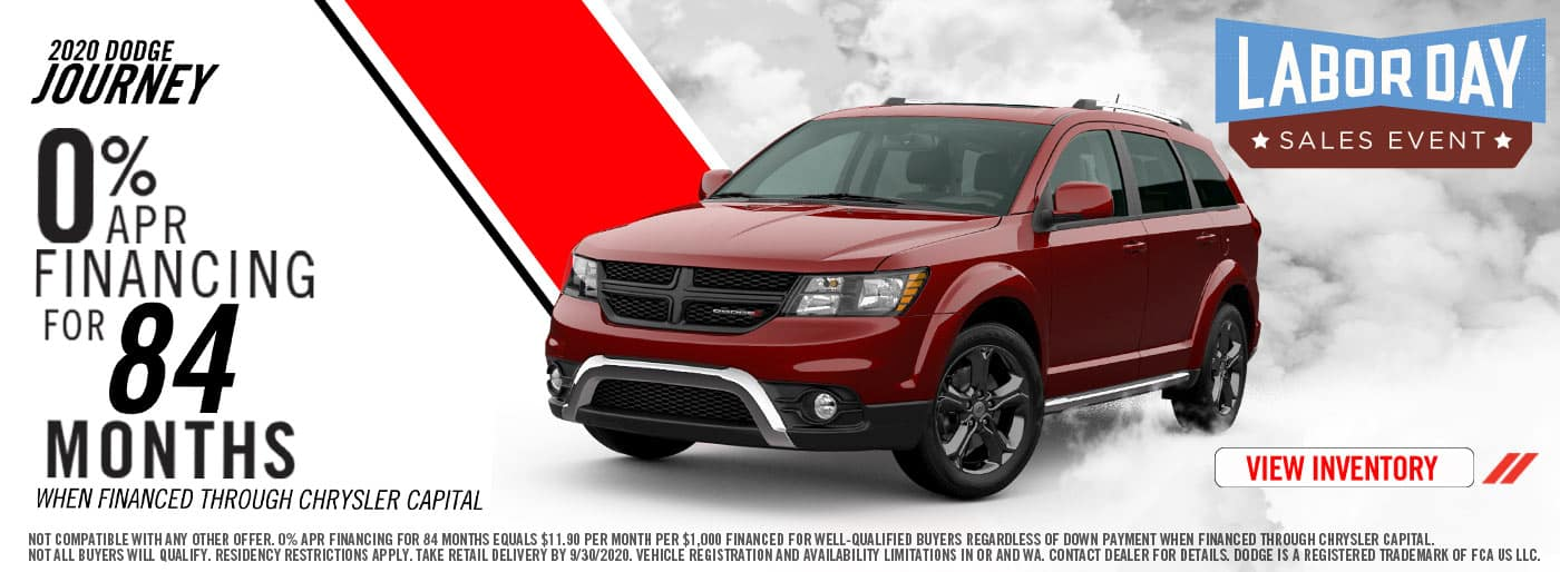 2020 Labor Day Dodge Journey