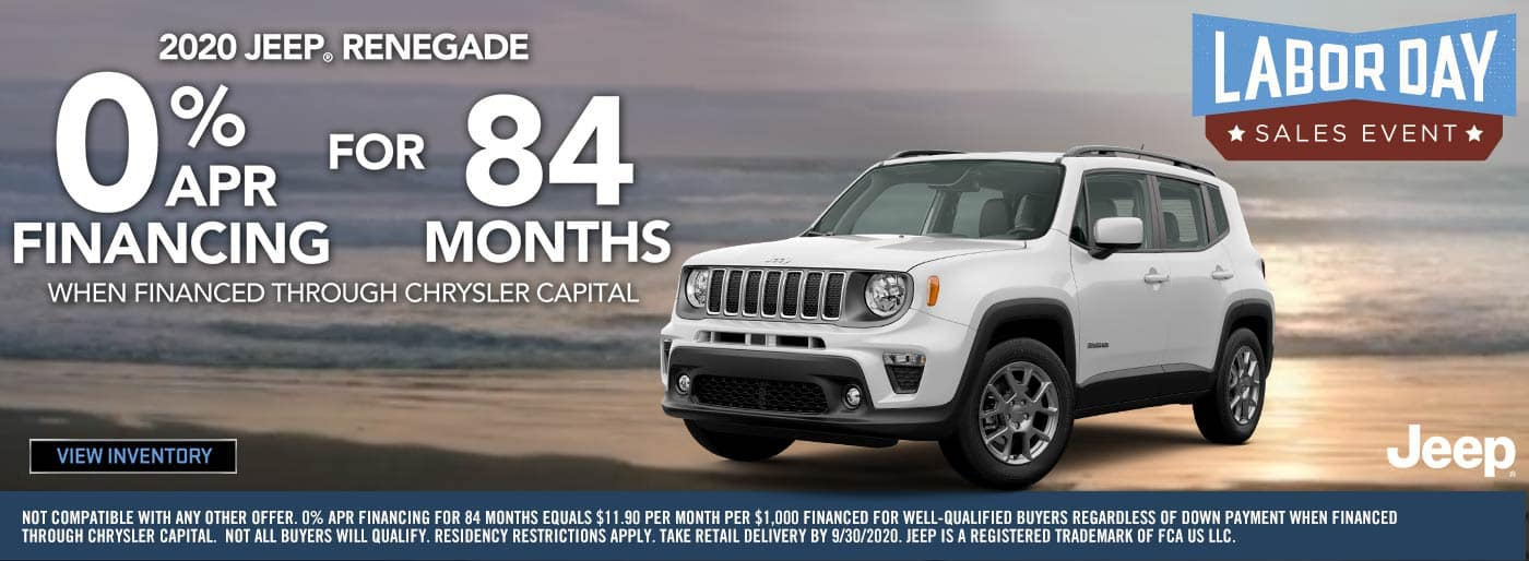 Labor Day 2020 Jeep Renegade
