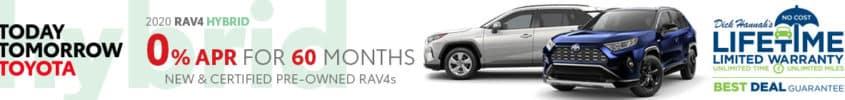 2020 Toyota RAV4 Hybrid 0% APR