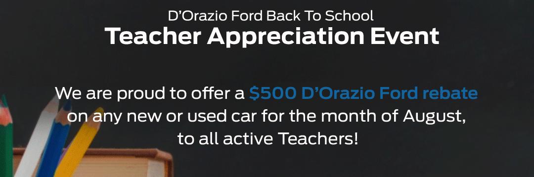 Ford Teacher Discount