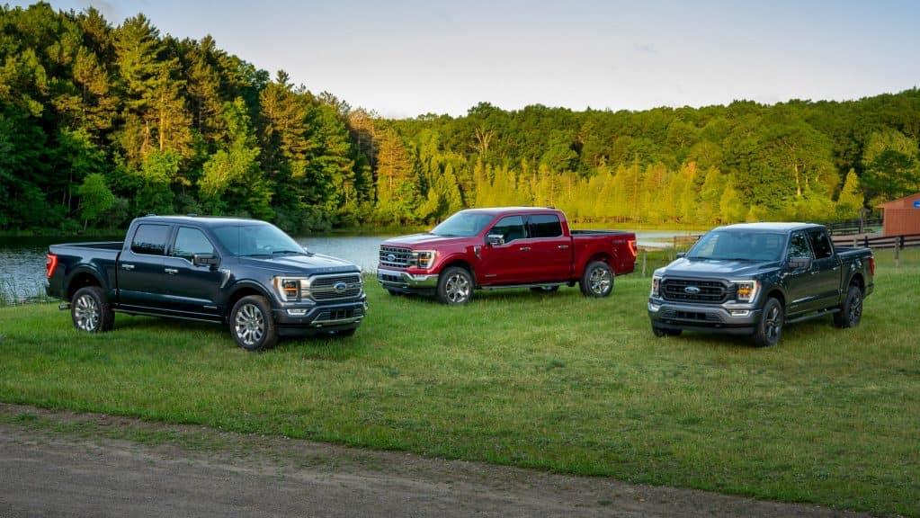 2021 Ford F-150 Color Options