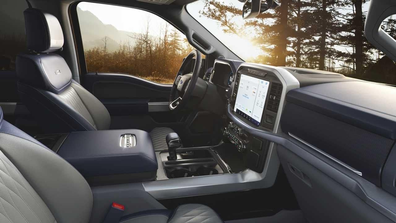 2021 Ford F-150 Interior Options