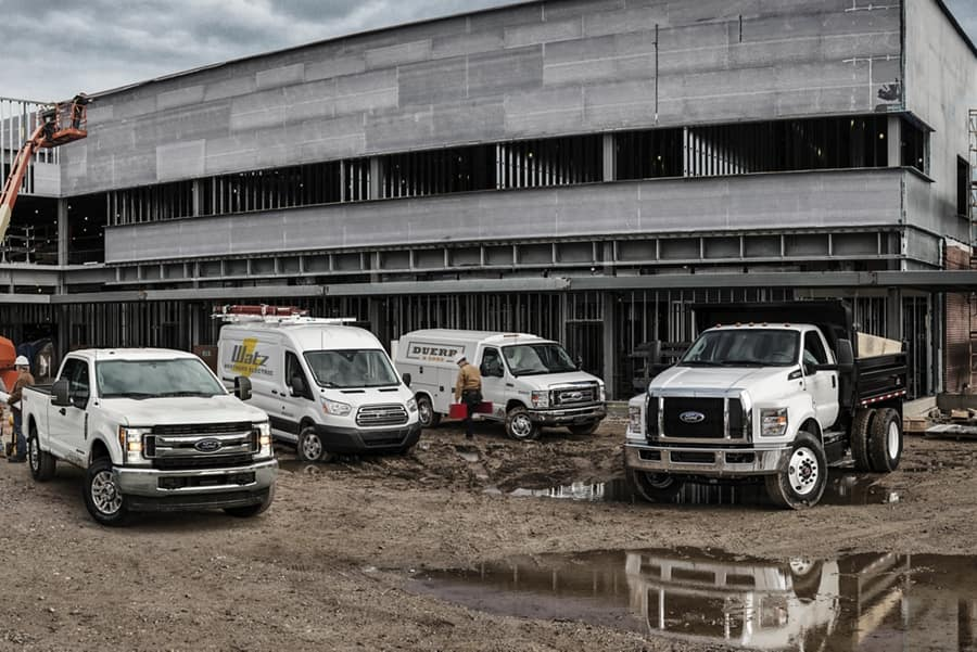 2021 Ford Commercial Trucks