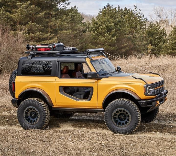 2021 Ford Bronco Accessories