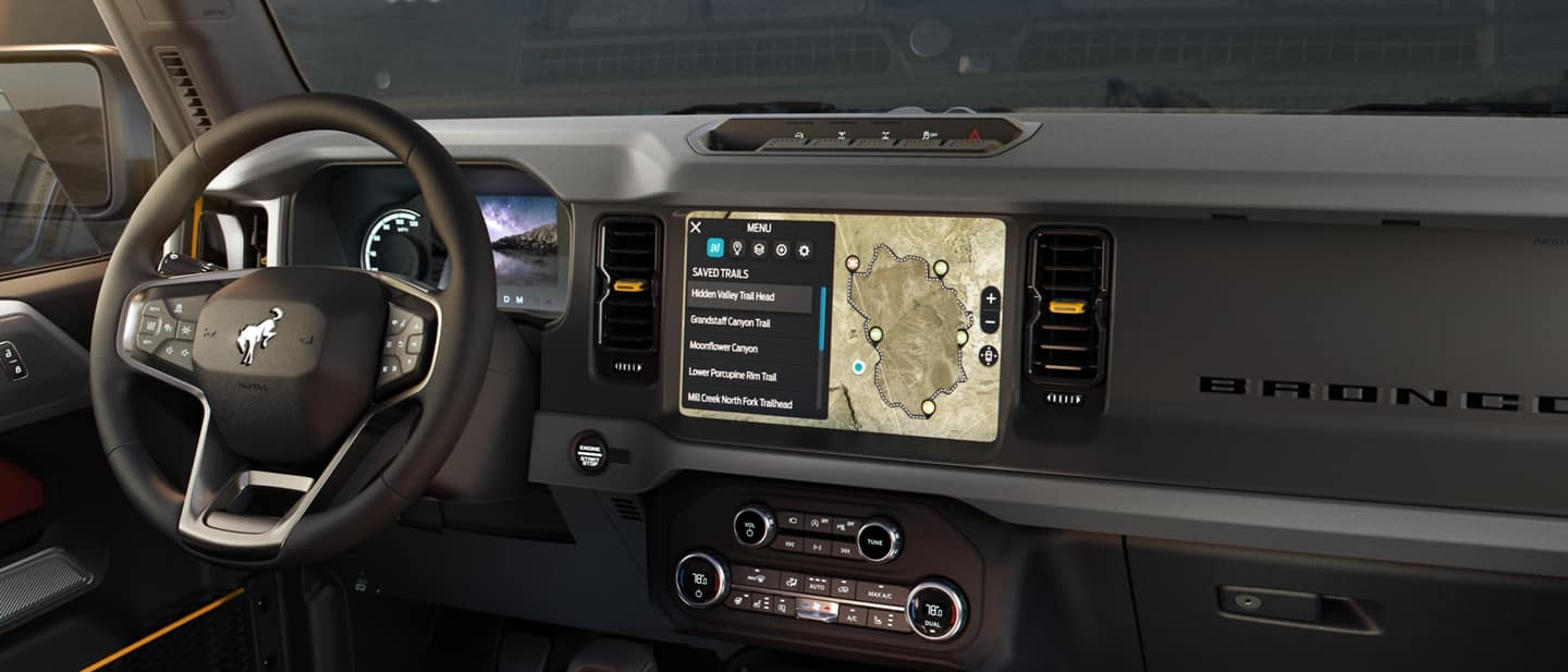 2021 Ford Bronco Interior Options