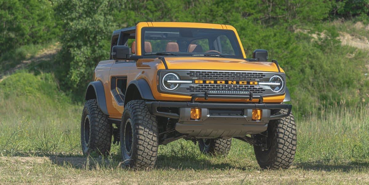 2021 Ford Bronco Trim Levels