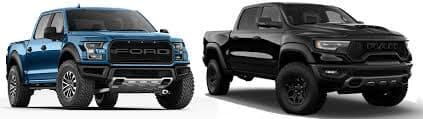 Ford Raptor vs. Ram 1500 TRX Comparison