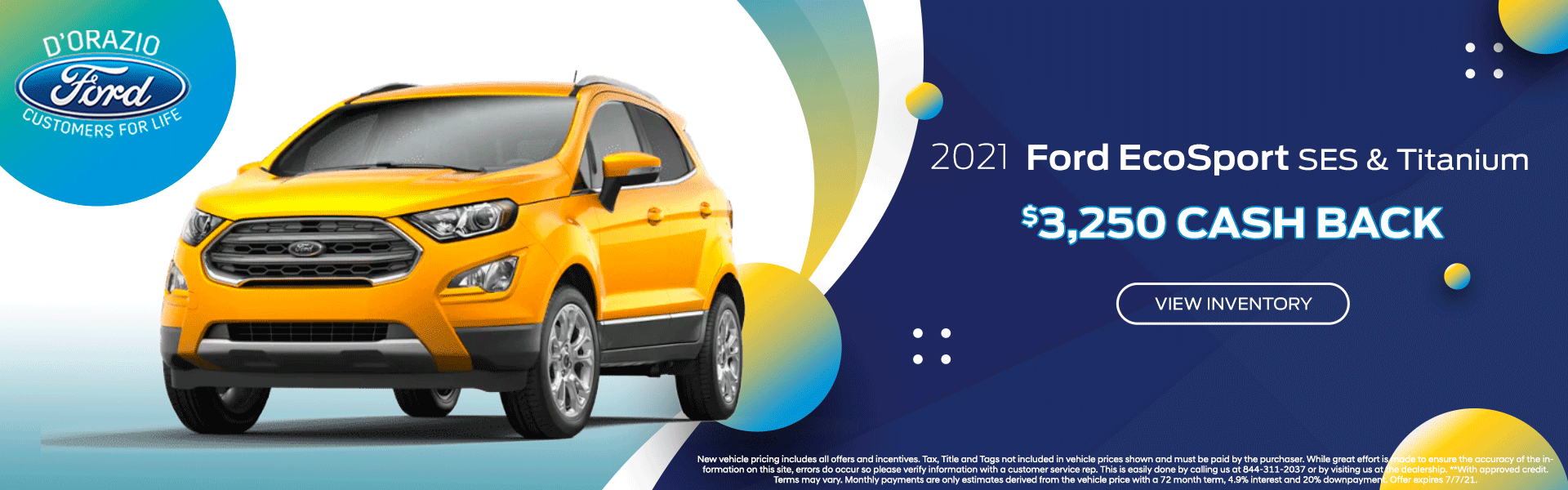 New 2021 Ford EcoSport