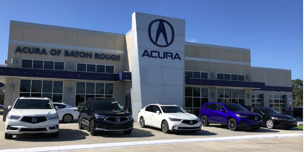 Front of Dealership - Acura of Baton Rouge