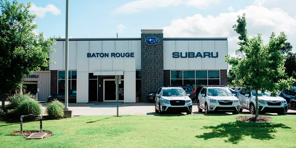 Front of Dealership - Subaru of Baton Rouge