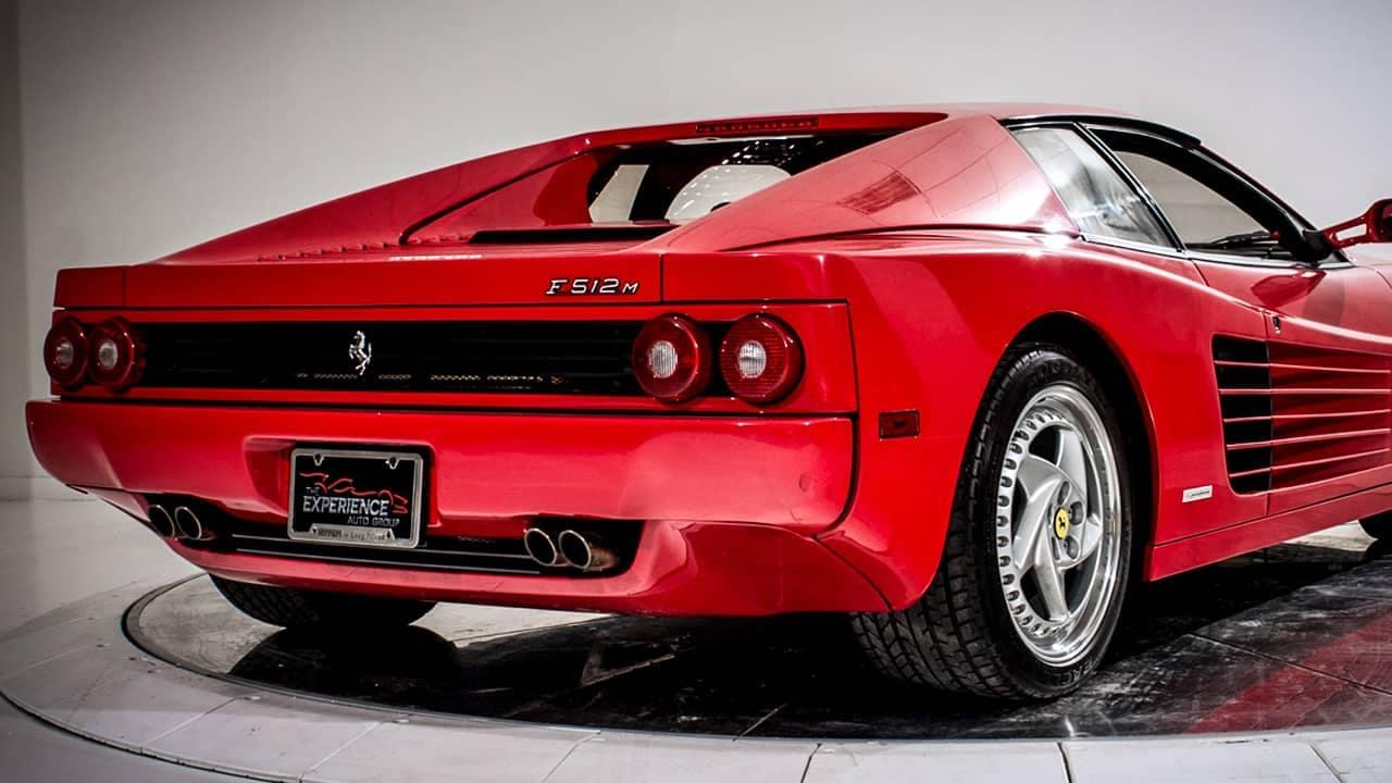 The Ferrari F512 M The Ultimate Testarossa Ferrari Of Fort Lauderdale