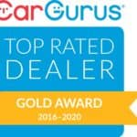 Car Gurus Gold Award