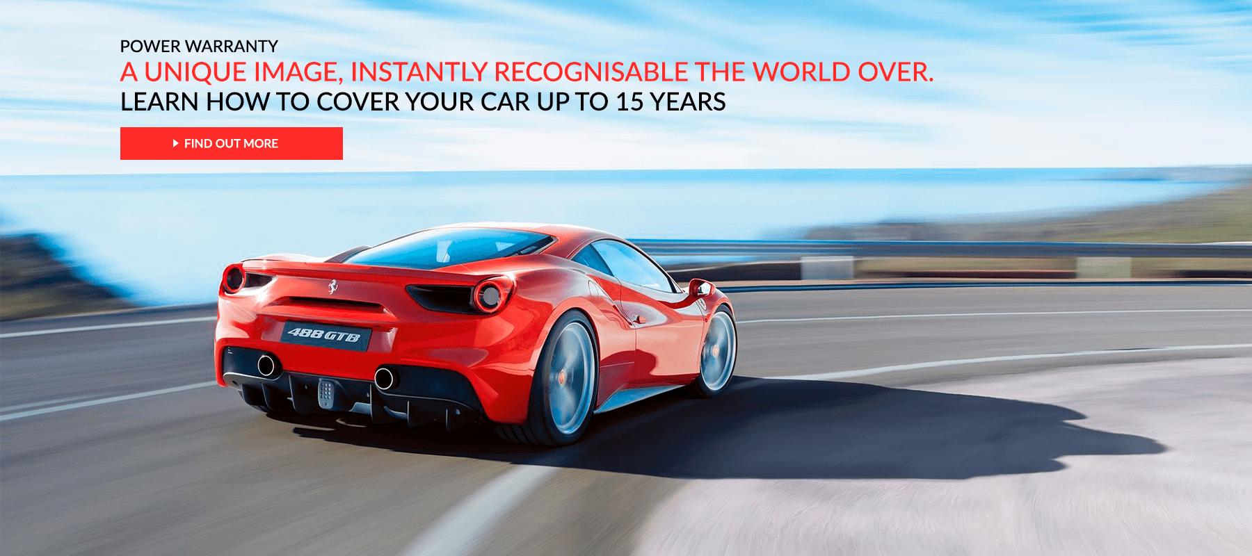 Ferrari Power Warranty