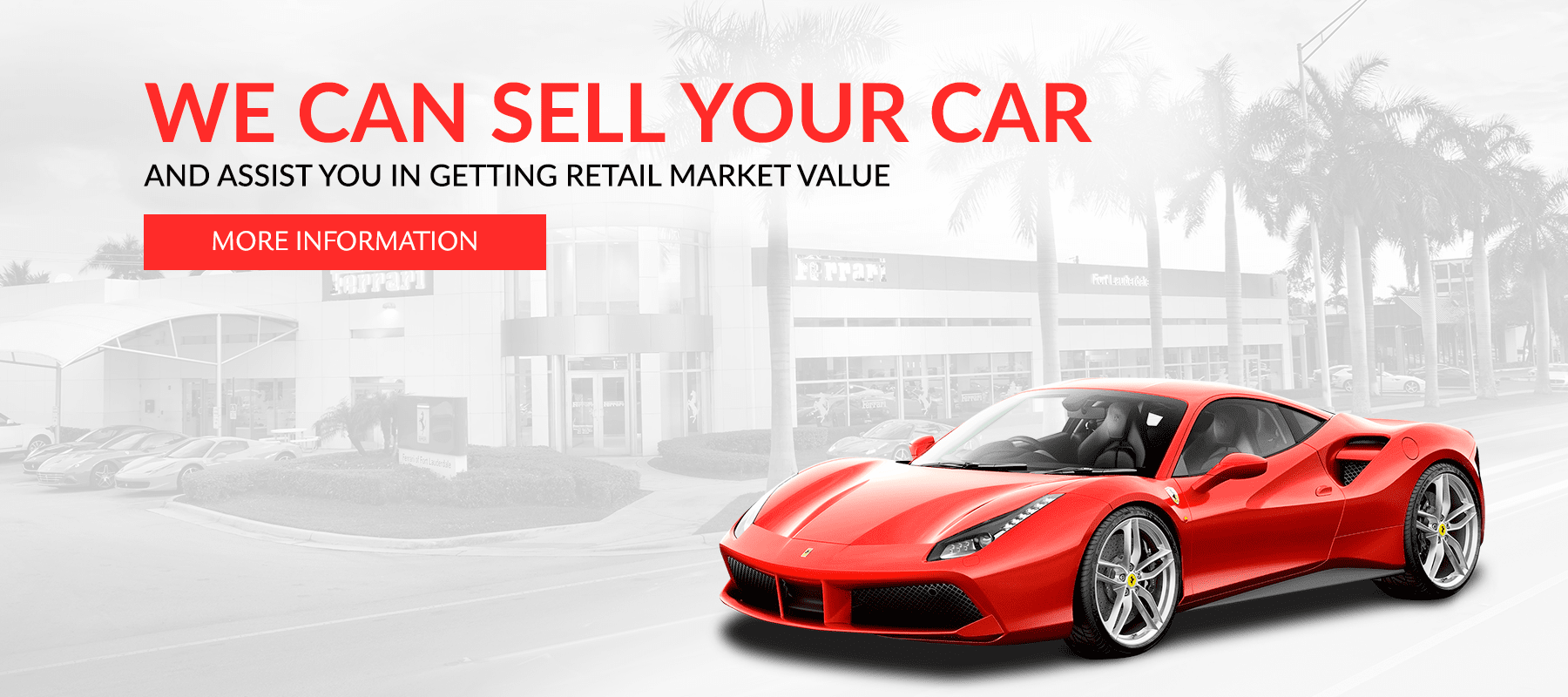 Exotic Car Consignment Sales